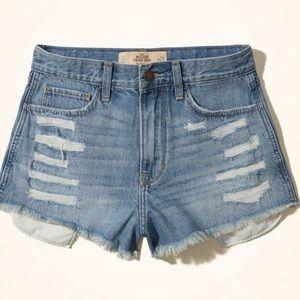 Hollister vintage high rise shorts